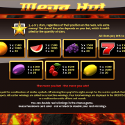 mega_hot-paytable