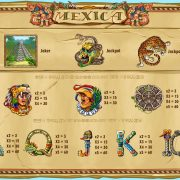 mexica_paytable