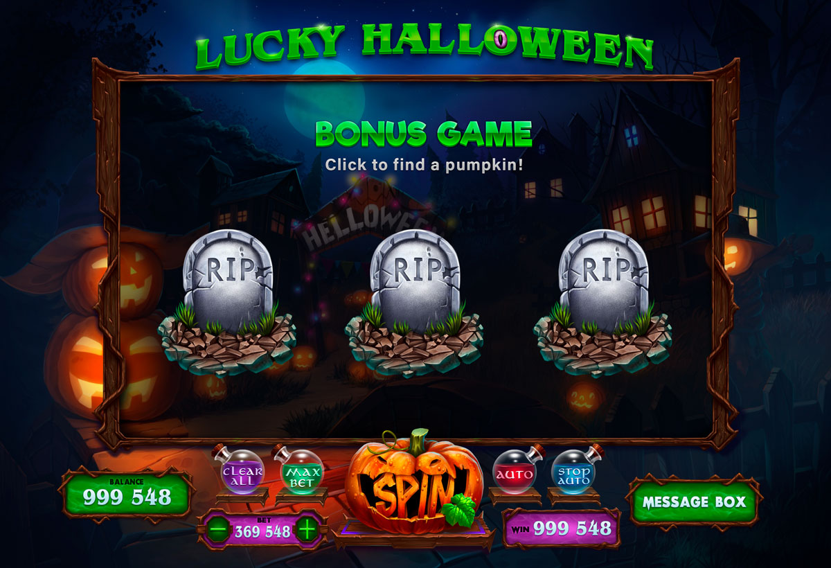 Free Halloween Slots With Bonus