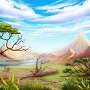 mystical_hammer_day-background