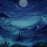 mystical_hammer_night-background