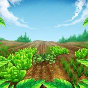 garden_cross_background